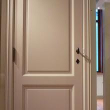 Porte intérieure showroom Huizingen 1