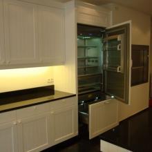 Keuken Boston inbouw frigo 900br
