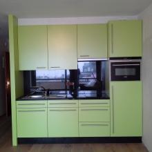 Kleine keuken in laminaat