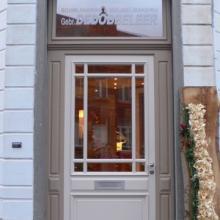 Porte d'entrée showroom Huizingen